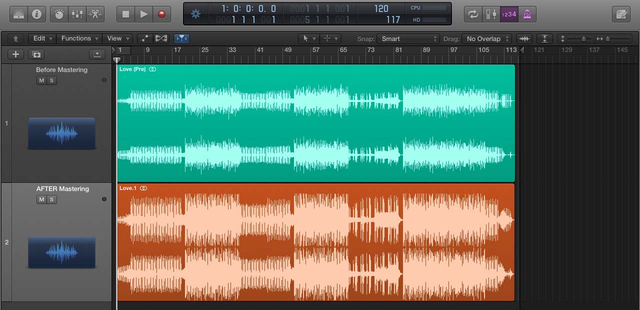 Mixing Mastering Example
